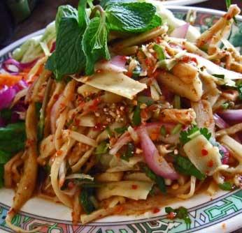 Bambooshoot Salad
