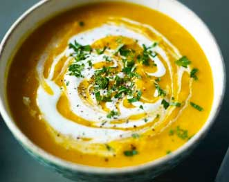 Cream of Mulligatawny Soup