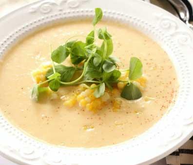 Cream of Sweet Corn Soup