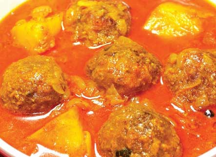 Echore Kofta Curry