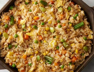 Mixed Veg Fried Rice