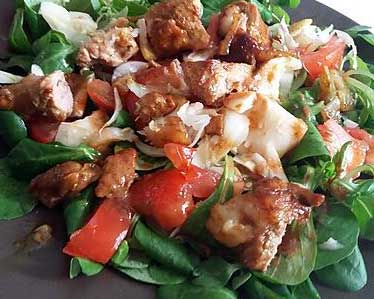 Salade Viande