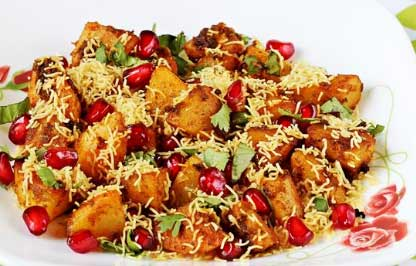 Spicy Aloo Chat